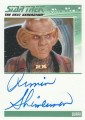 Star Trek The Next Generation Heroes Villains Trading Card Autograph Armin Shimerman