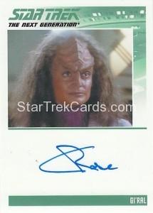 Star Trek The Next Generation Heroes Villains Trading Card Autograph Christine Rose