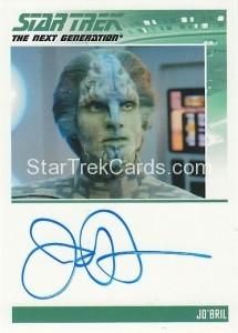 Star Trek The Next Generation Heroes Villains Trading Card Autograph James Horan
