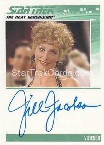 Star Trek The Next Generation Heroes Villains Trading Card Autograph Jill Jacobson