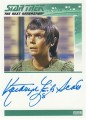 Star Trek The Next Generation Heroes Villains Trading Card Autograph Kathryn Leigh Scott
