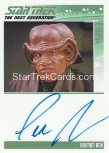 Star Trek The Next Generation Heroes Villains Trading Card Autograph Lee Arenberg
