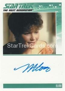 Star Trek The Next Generation Heroes Villains Trading Card Autograph Margot Rose