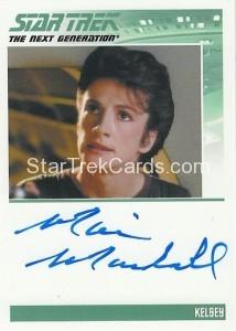 Star Trek The Next Generation Heroes Villains Trading Card Autograph Marie Marshall