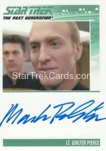 Star Trek The Next Generation Heroes Villains Trading Card Autograph Mark Rolston