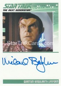 Star Trek The Next Generation Heroes Villains Trading Card Autograph Michael Bofshever