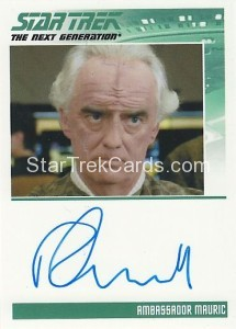 Star Trek The Next Generation Heroes Villains Trading Card Autograph Robin Gammell