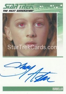 Star Trek The Next Generation Heroes Villains Trading Card Autograph Shay Astar