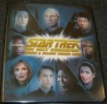 Star Trek The Next Generation Heroes Villains Trading Card Binder
