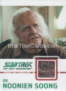 Star Trek The Next Generation Heroes Villains Trading Card C10