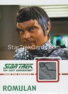 Star Trek The Next Generation Heroes Villains Trading Card C15