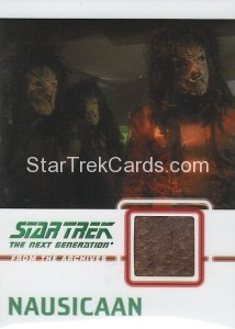Star Trek The Next Generation Heroes Villains Trading Card C17