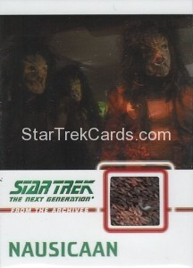 Star Trek The Next Generation Heroes Villains Trading Card C17 Alternate