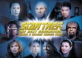 Star Trek The Next Generation Heroes Villains Trading Card CT1