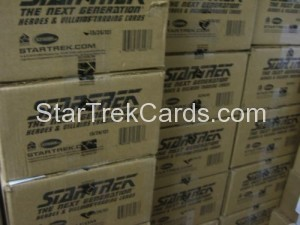 Star Trek The Next Generation Heroes Villains Trading Card Case