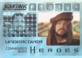 Star Trek The Next Generation Heroes Villains Trading Card H7