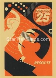 Star Trek The Next Generation Heroes Villains Trading Card PC2