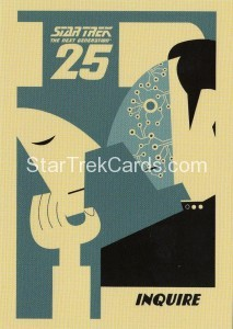 Star Trek The Next Generation Heroes Villains Trading Card PC4