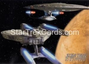 Star Trek The Next Generation Heroes Villains Trading Card R7
