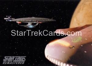 Star Trek The Next Generation Heroes Villains Trading Card R8