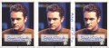 Star Trek Voyager Profiles Trading Card Josh Clark Uncut Sheet