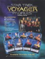 Star Trek Voyager Profiles Trading Card Sell Sheet
