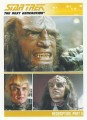 The Complete Star Trek The Next Generation Series 2 Trading Card 100
