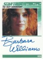 The Complete Star Trek The Next Generation Series 2 Trading Card Autograph Barbara Williams