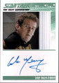The Complete Star Trek The Next Generation Series 2 Trading Card Autograph Colm Meaney