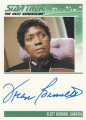 The Complete Star Trek The Next Generation Series 2 Trading Card Autograph Fran Bennett