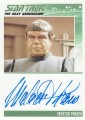 The Complete Star Trek The Next Generation Series 2 Trading Card Autograph Malachi Throne