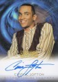 The Quotable Star Trek Deep Space Nine Trading Card Autograph A18 Cirron Cofton