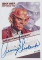 The Quotable Star Trek Deep Space Nine Trading Card Autograph Armin Shimerman