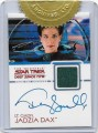 The Quotable Star Trek Deep Space Nine Trading Card Terry Farrell Autograph Costume