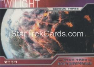 Enterprise Season Three Trading Card 185