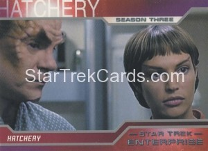 Enterprise Season Three Trading Card 212