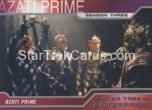 Enterprise Season Three Trading Card 215