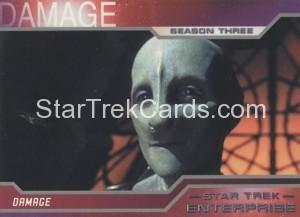 Enterprise Season Three Trading Card 218