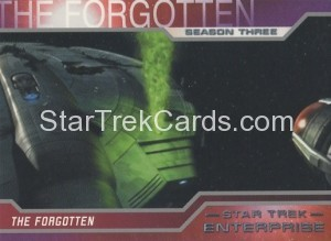 Enterprise Season Three Trading Card 221