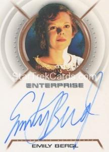 Enterprise Season Three Trading Card A30