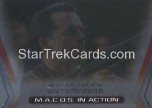 Enterprise Season Three Trading Card M4