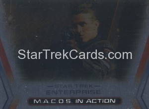 Enterprise Season Three Trading Card M6