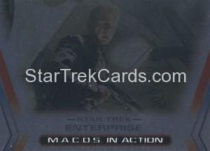 Enterprise Season Three Trading Card M8