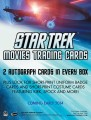 2014 Star Trek Movies Trading Card Sell Sheet