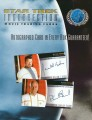 Star Trek Insurrection Trading Card Sell Sheet Front