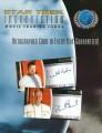 Star Trek Insurrection Trading Card Sell Sheet Front
