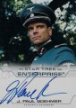 Enterprise Season Four Trading Card Autograph J Paul Boehmer