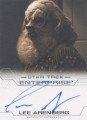 Enterprise Season Four Trading Card Autograph Lee Arenberg