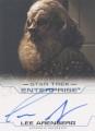 Enterprise Season Four Trading Card Autograph Lee Arenberg