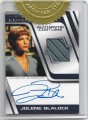 Star Trek Enterprise Season Four Trading Card Jolene Blalock Autograph Costume